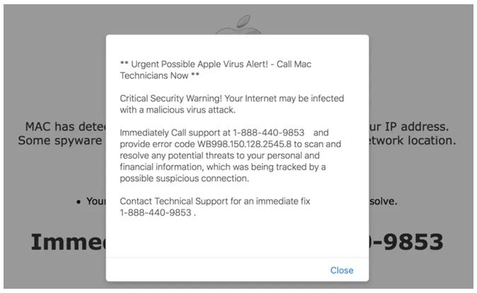 Почему вы получаете порнографические предупреждения о вирусах