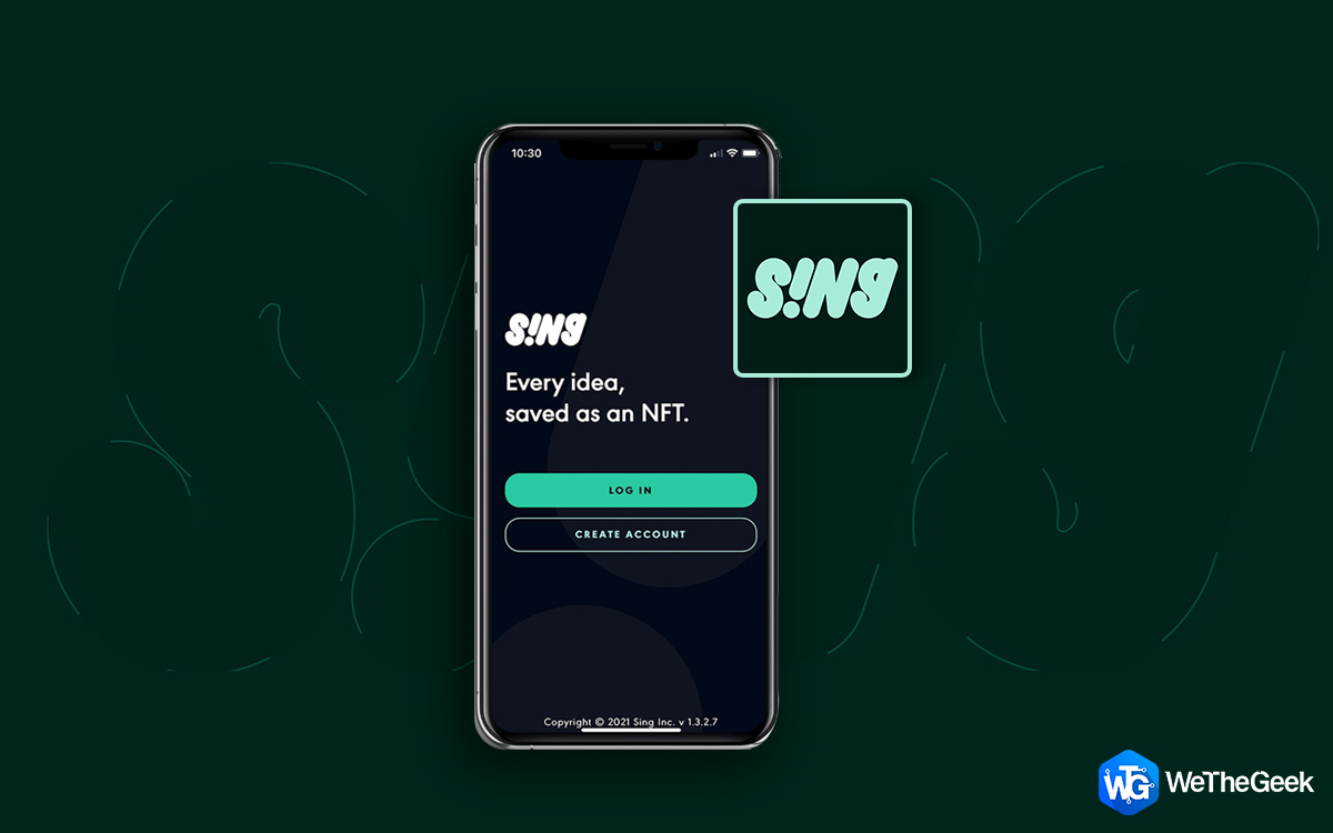 An All-New iPhone App (S!Ng) Lets Anybody Mint An NFT Token – For Free