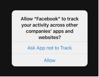 Transparenz beim App-Tracking
