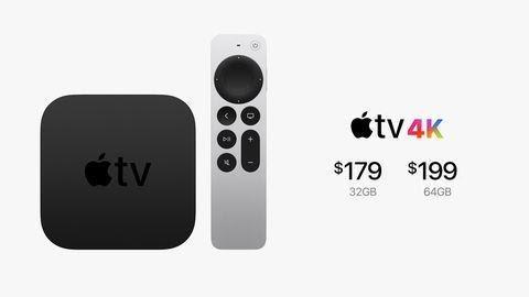 Apples 4K-Fernseher mit neuer Fernbedienung
