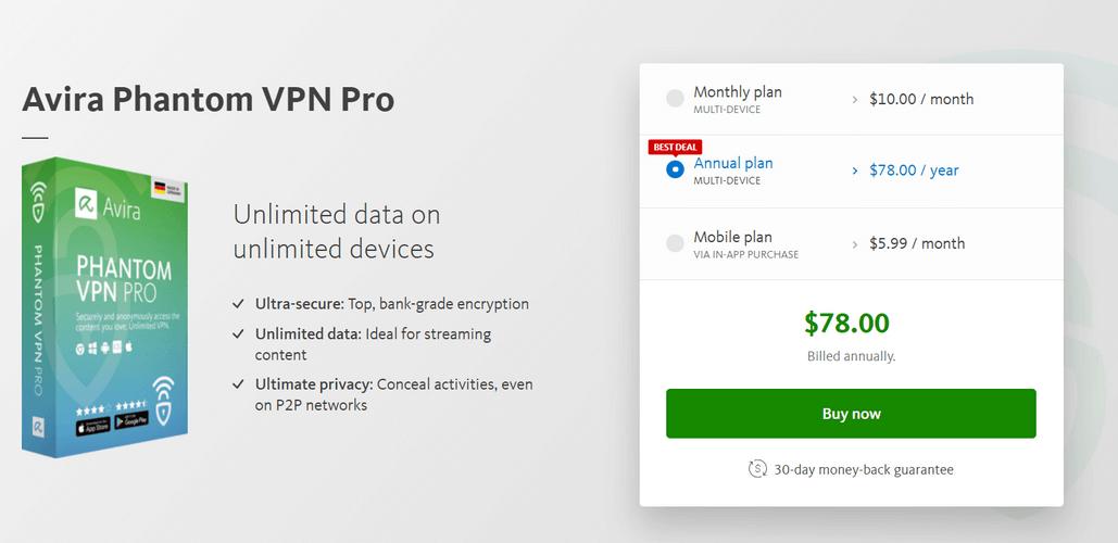 Avira Phantom-VPN
