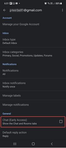Gehen Sie zu den Gmail-Einstellungen