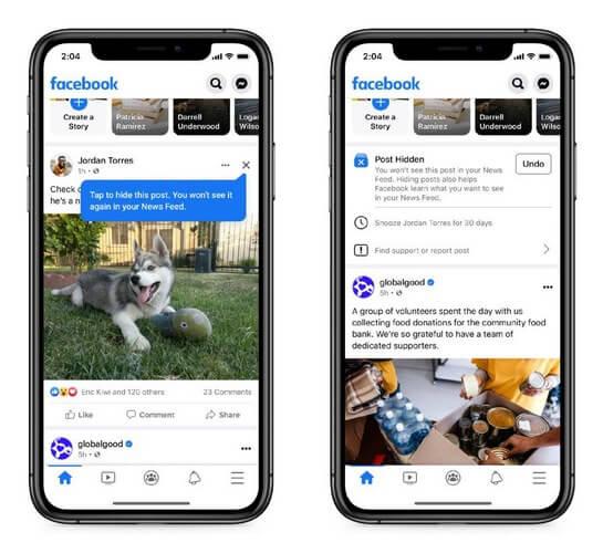 Facebook фокусируется на обратной связи с пользователями