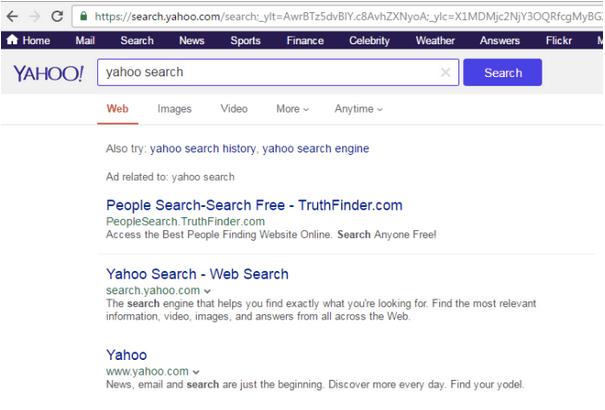 Entfernen Sie den Yahoo Search Redirect-Virus