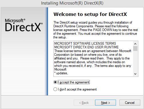установить DirectX