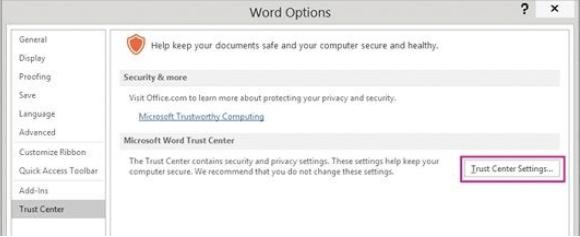 Fügen Sie die Datei zum PowerPoint-Vertrauensordner hinzu