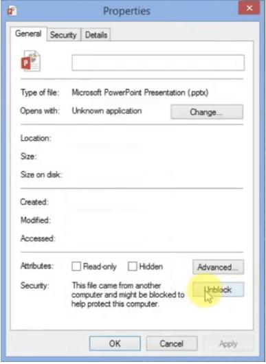 Ändern Sie die Dateieigenschaften