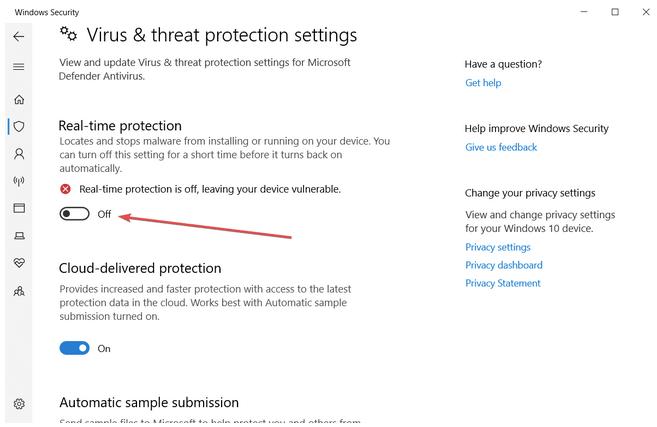 Cloud-basierter Schutz