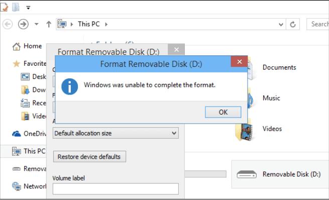 Laufwerk formatieren