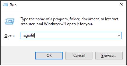 Переименуйте ключ реестра
