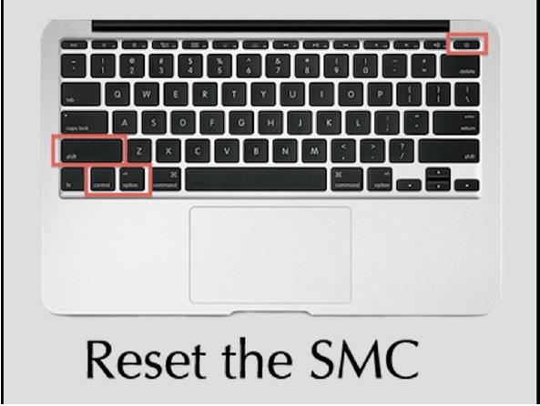 Сбросить SMC