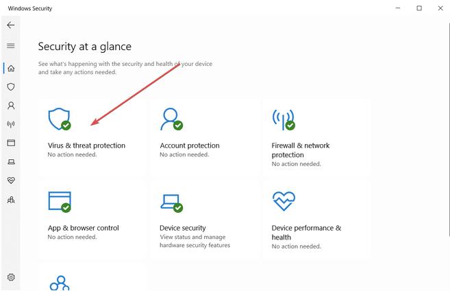 Deaktivieren Sie Windows Defender