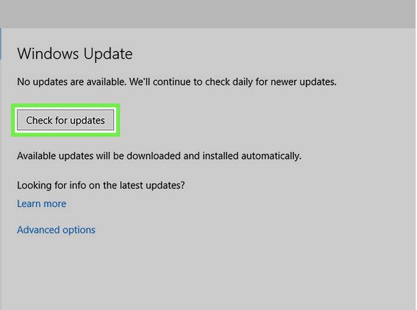 Обновите ОС Windows