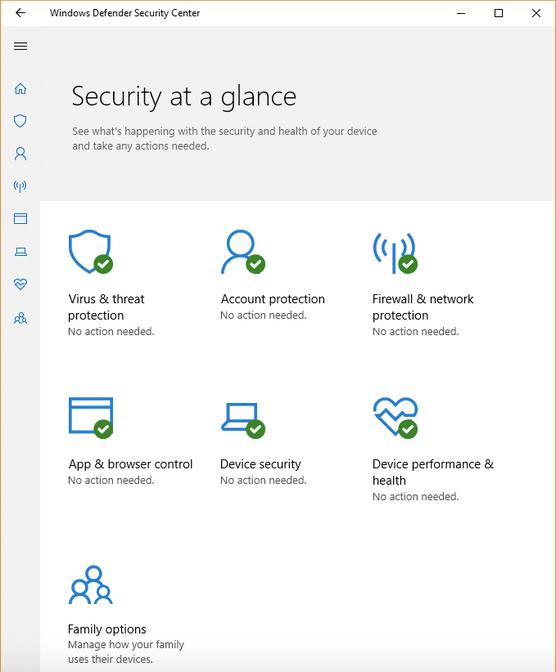 Fehler beim Initialisieren der Windows Defender-Anwendung