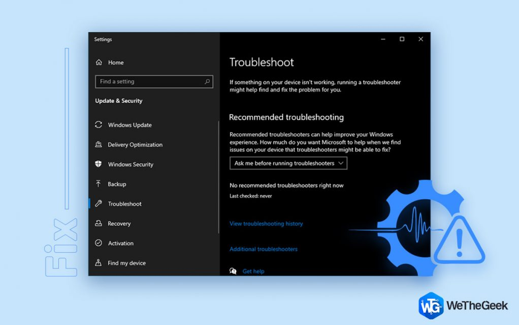 Windows Troubleshooter Not Working? Here's the Fix!