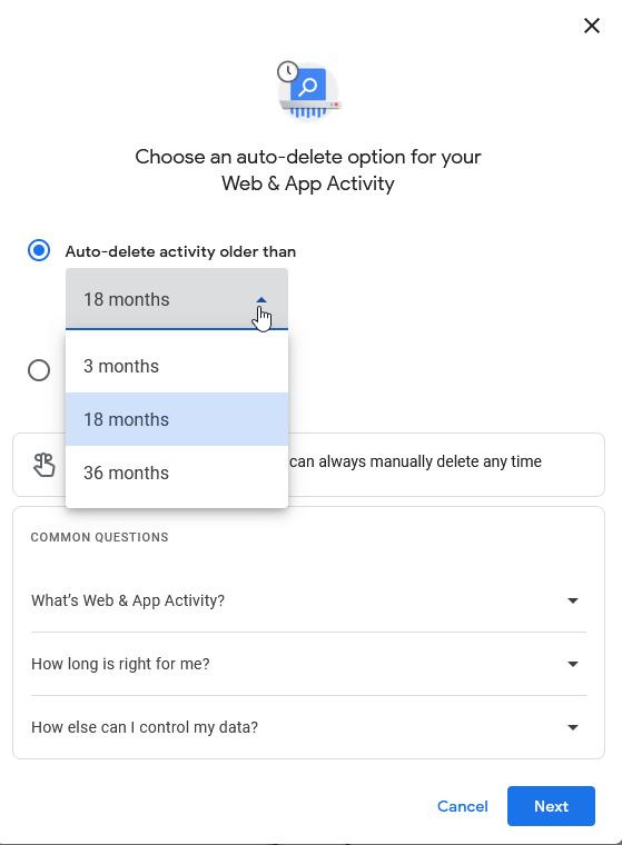 Browserverlauf schützen