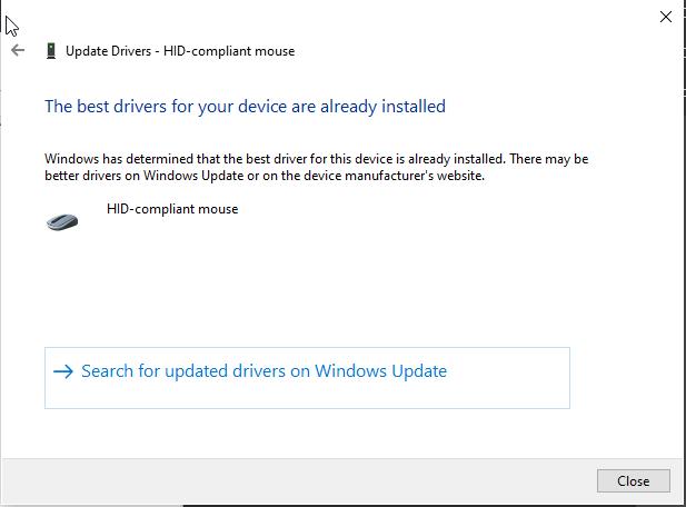 Драйвер мыши Microsoft