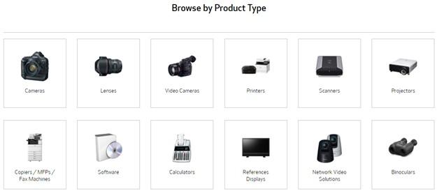 Durchsuchen Sie nach Produkttyp.