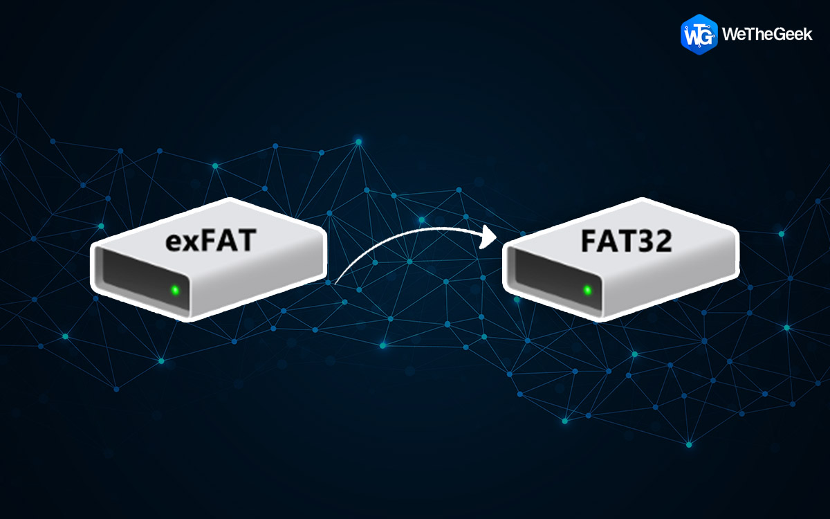 How to Change EXFAT to FAT32 Without Formatting