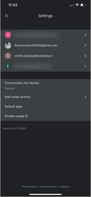 Wählen Sie Ihr Gmail