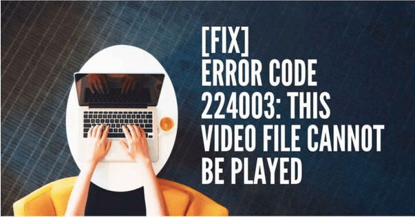 Код ошибки 224003