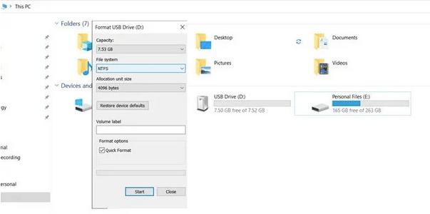 Поле файловой системы