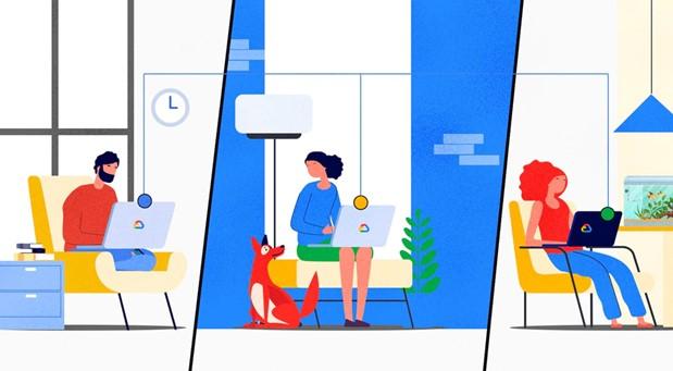 Рабочая область Google