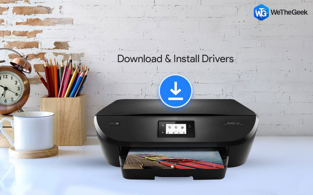 How To Download & Install HP Envy 5540 Drivers For Windows 10