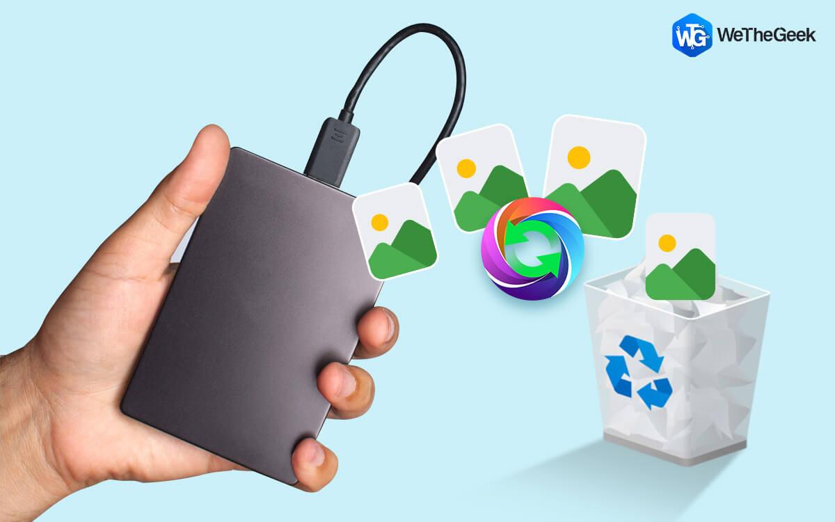How to Recover Deleted Photos from External Hard Drive
