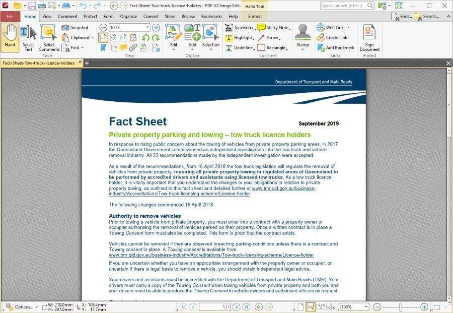 Редактор PDF-XChange