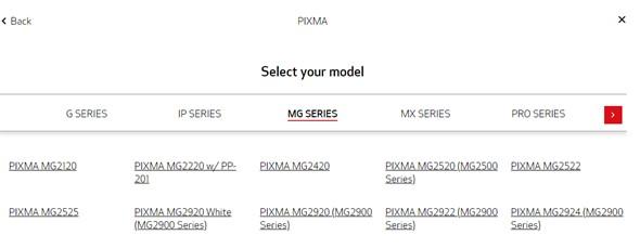 PIXMA MG2522