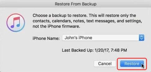 Восстановить навсегда удаленные фотографии с iPhone