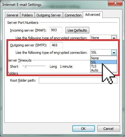 Переключиться на SSL-сервер