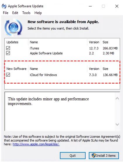 Aktualisieren Sie die iCloud Drive-App