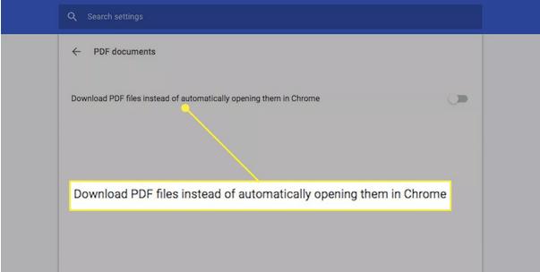 включить просмотрщик PDF в Chrome