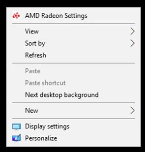 AMD Radeon-Einstellungen