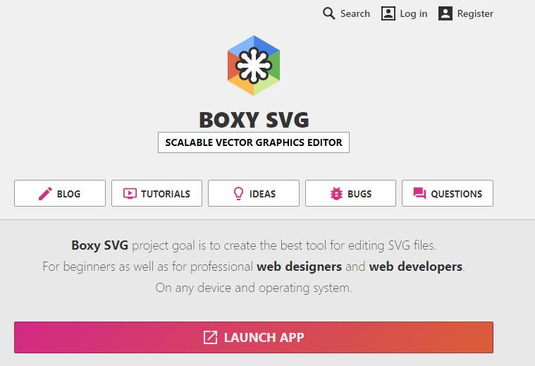 SVG-Boxen