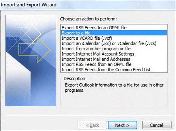 как сохранять электронные письма из Outlook 365 на жесткий диск