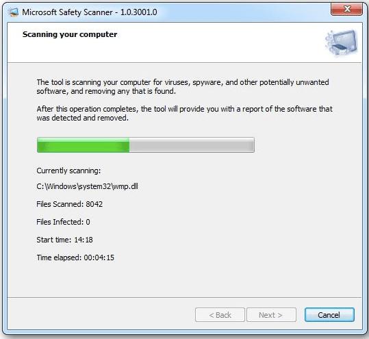 Microsoft-Sicherheitsscanner herunterladen