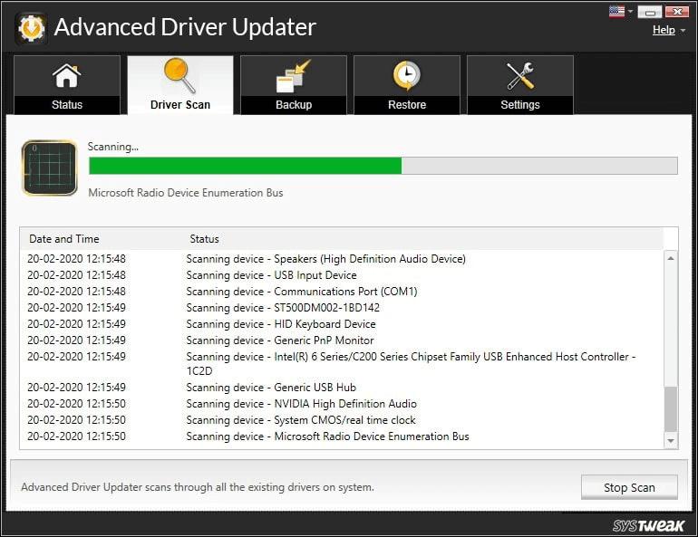 Erweiterter Treiber-Updater