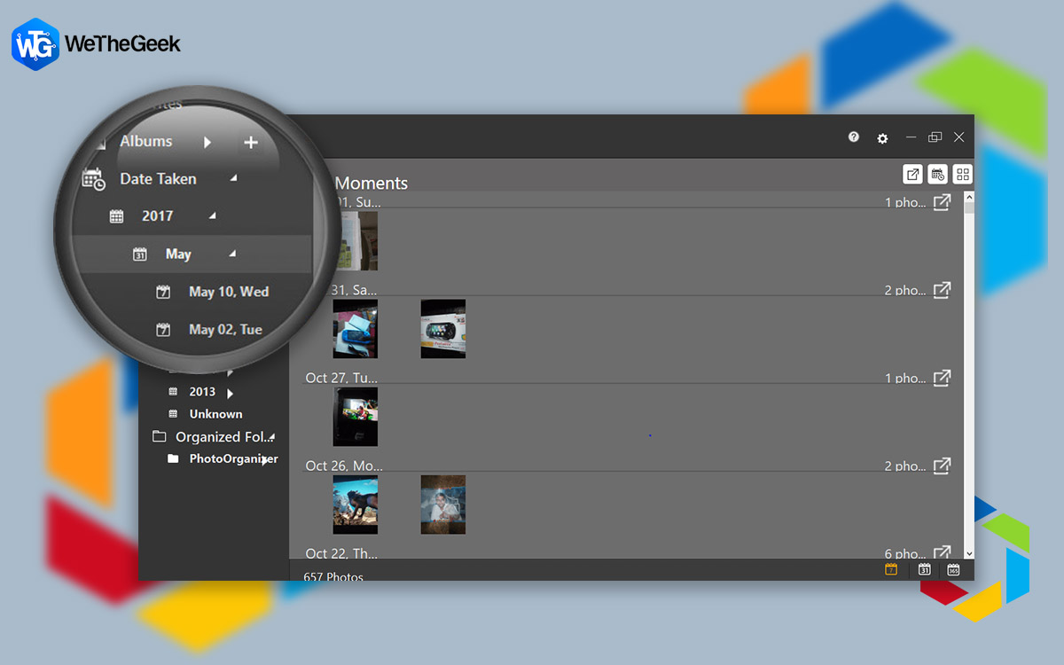 How To Sort Photos By Date Using Photo Organizer?