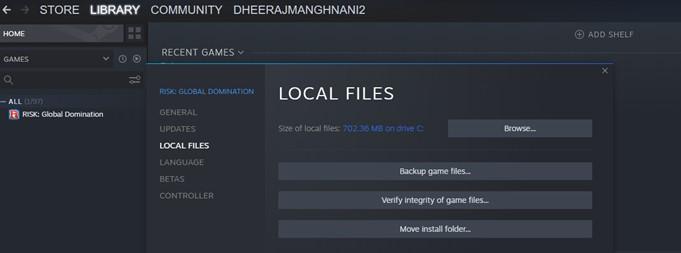 Локальные файлы