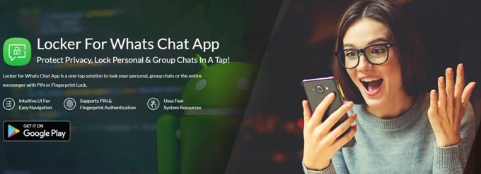 Schließfach für WhatsApp