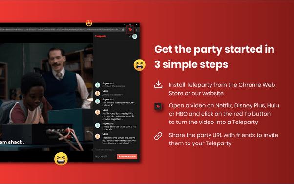 Netflix-Party