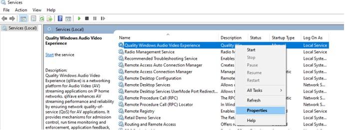 Hochwertiges Windows-Audio-Video-Erlebnis
