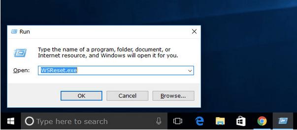 Windows Store-Cache zurücksetzen