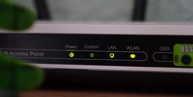 Router neu starten