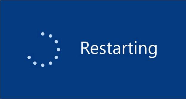 Starten Sie Ihren PC neu