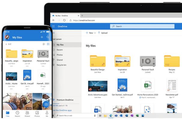 Восстановите свои данные из OneDrive