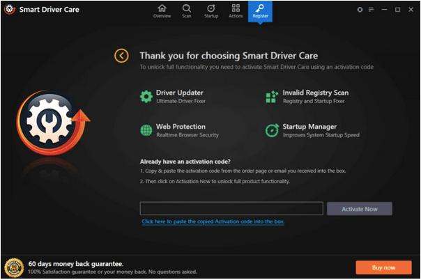 Dienstprogramm Smart Driver Care